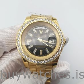 Rolex Day-Date 228348RBR Or 18 carats avec diamants 40 mm automatique