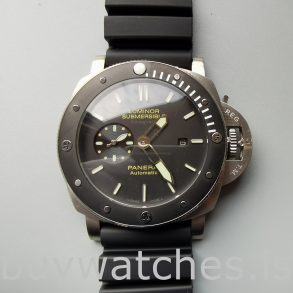 Panerai Luminor Submersible Pam00389 Montre automatique homme 47 mm noire