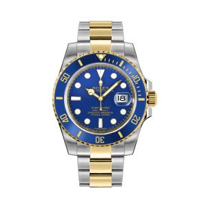 Rolex Submariner 116613LB Montre ronde en acier inoxydable or 40 mm